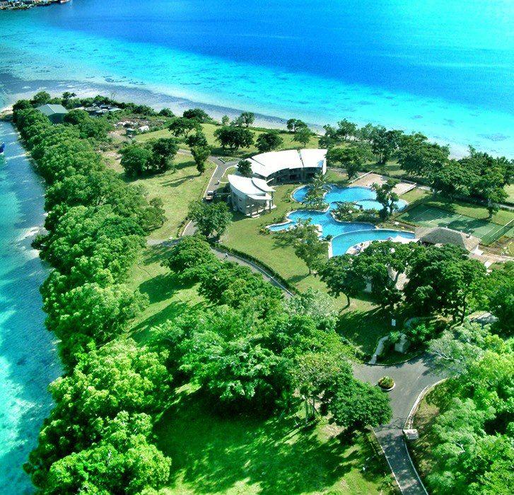 Solomon Islands Beach: Iririki Island Resort & Spa Vanuatu
