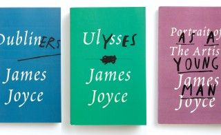 According to Mendelsund, Joyce brought samples of cloth with him to the printer -- he had specific colors in mind for his covers. The design...