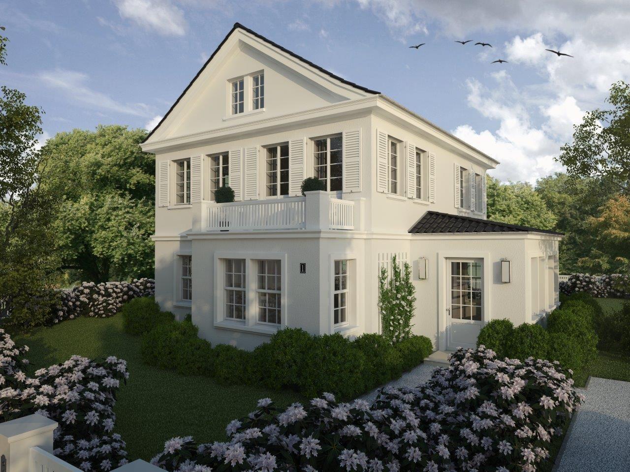 Die klassische Villa Amalia haben wir auf Basis eines