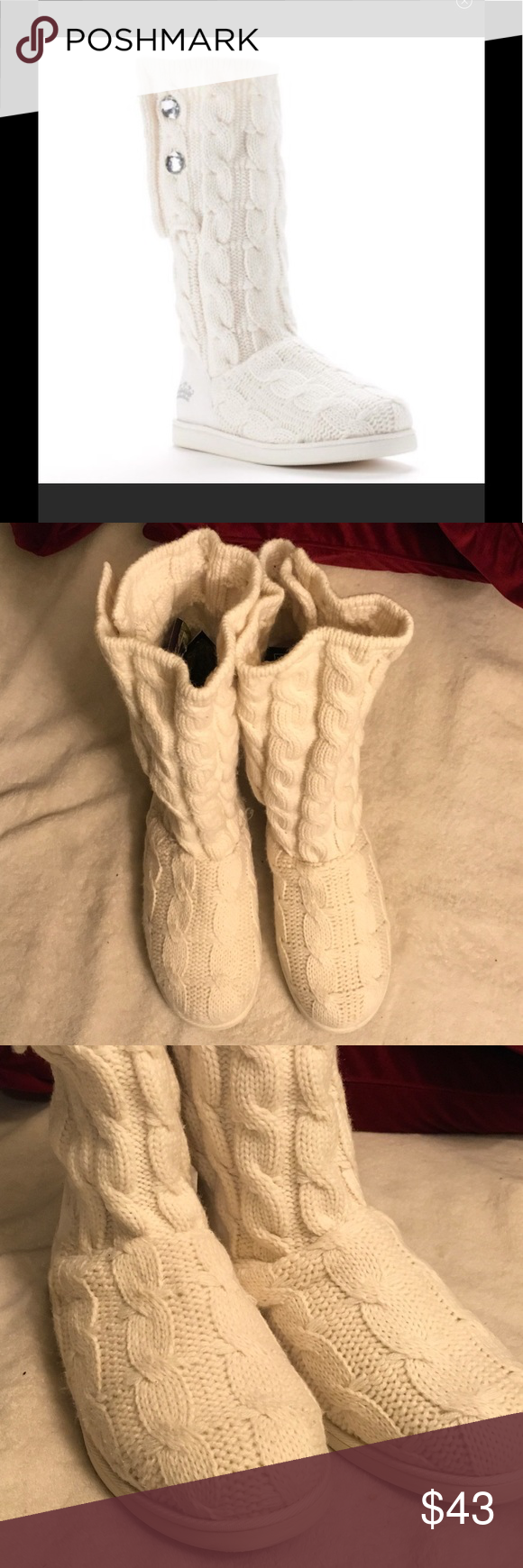 Selling this Juicy Couture Marlin sweater boots on Poshmark! My username is: dresstyle. #shopmycloset #poshmark #fashion #shopping #style #forsale #Bird by Juicy Couture #Shoes