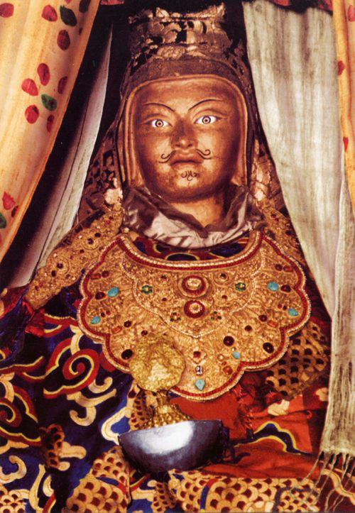 "Guru Rinpoche ""Looks Like Me"" statue. This statue was in Rumtek ..."