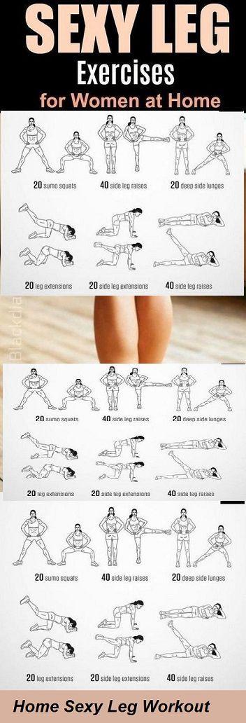 Bein-Workouts zu Hause fr Frauen, 7 Beste Bein-Workouts zu Hause fr Frauen, um Fett zu verlieren, #B...