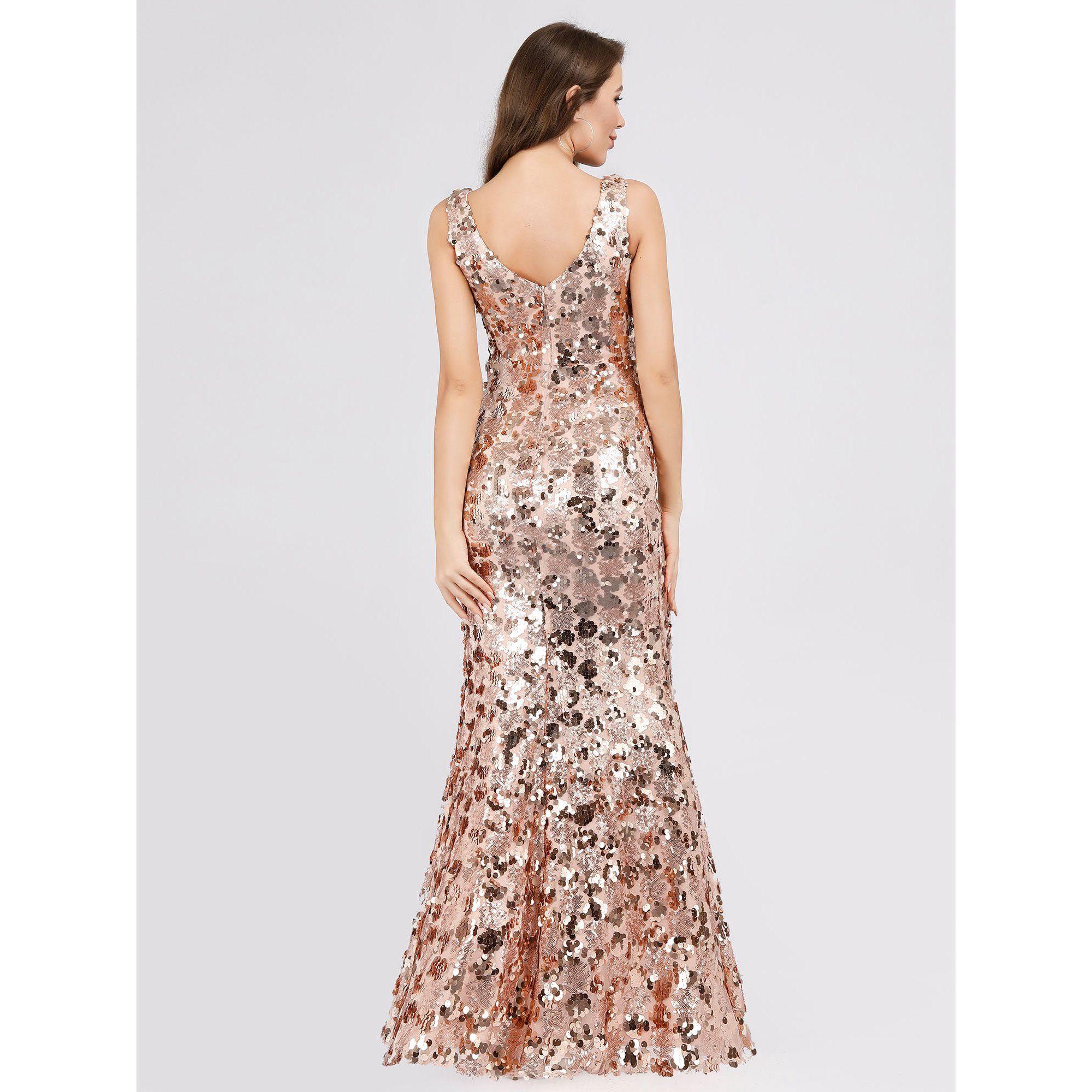 Ever Pretty Ever Pretty Womens Mermaid Prom Dresses For Women 07872 Gold Us4 Walmart Com In 2021 Long Mermaid Dress Evening Dresses Pattern Dress Women [ 2000 x 2000 Pixel ]