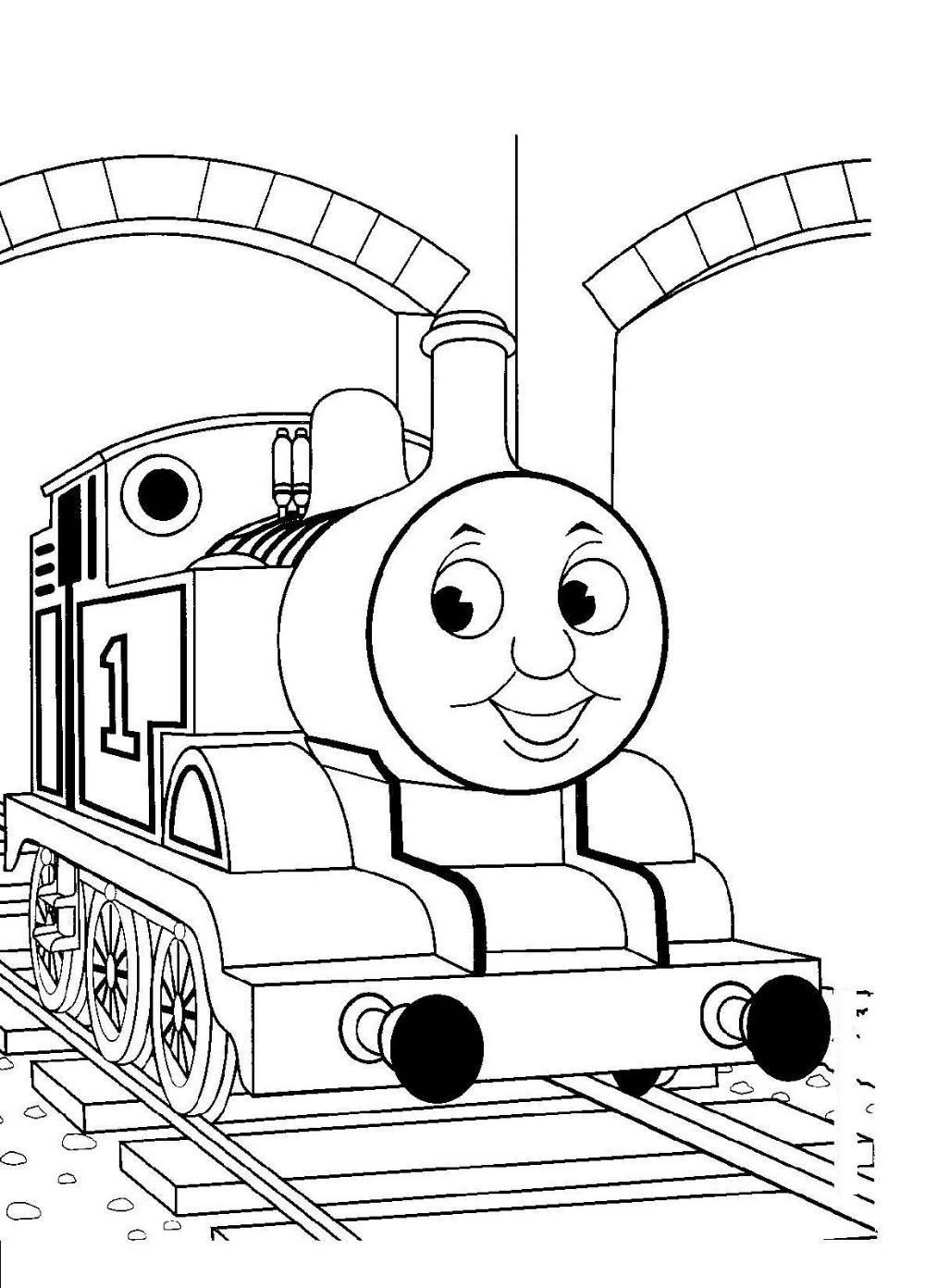 Thomas Coloring Pages Train Coloring Pages, Cool Coloring Pages