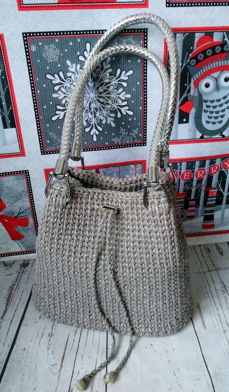 eccf315e7061 Вязаная сумка