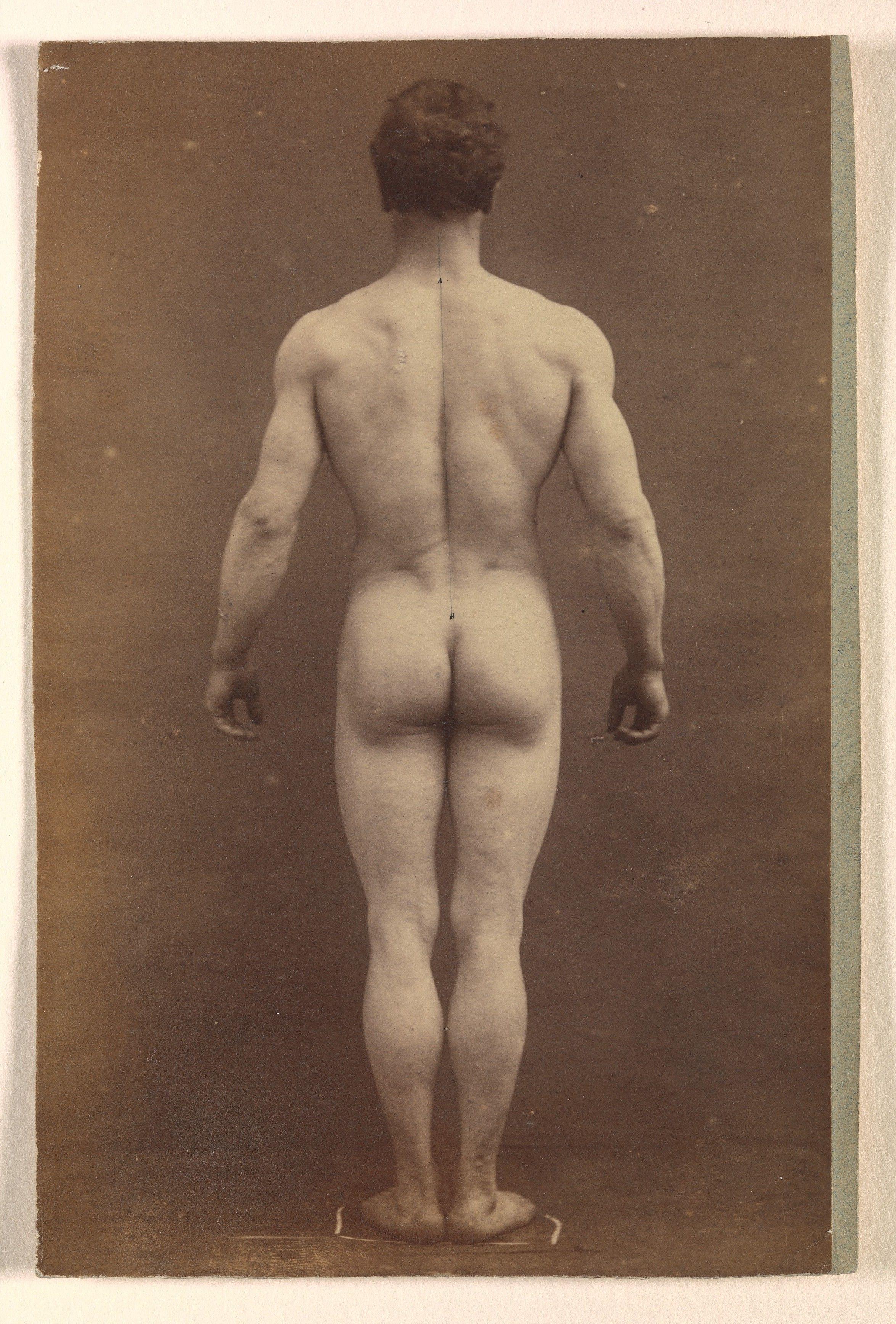 bent open ass nude
