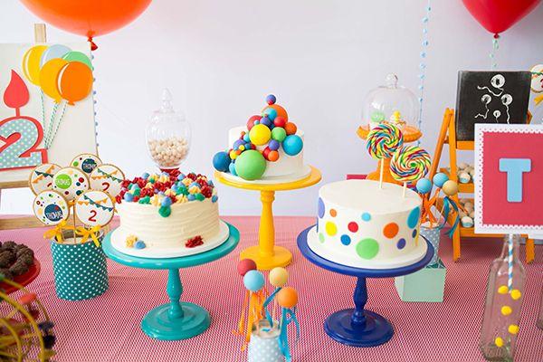 Festa Infantil Com Tema Bolas Coloridas Festa Infantil