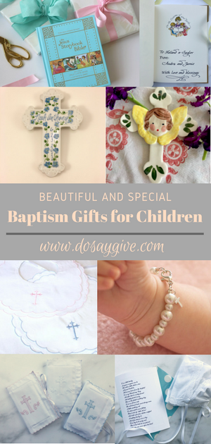 Special Baptism Gift Ideas Baptism Gifts Gifts Meaningful Gifts