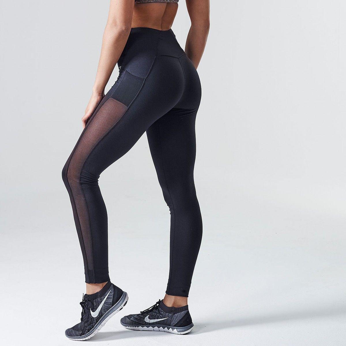 11eb4690dbd9a9 DRY Sculpture Leggings | Running Tights | Black | Gymshark | My ...