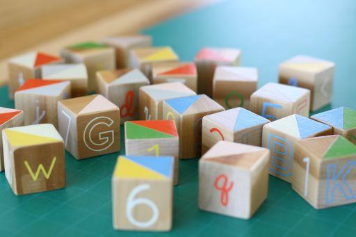Diy Baby Blocks Baby Blocks Diy Wooden Baby Blocks Alphabet Blocks Diy