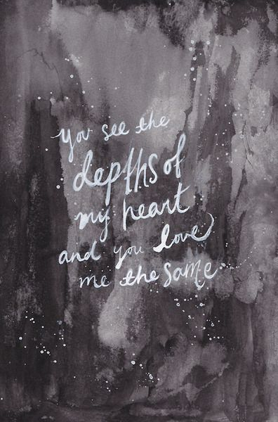 Christian Quotes About Love   He Sees The Depths Of My Heart God Thoughts Quotes Love