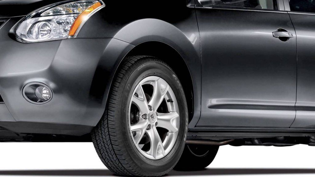 2013 Nissan Rogue Tire Size