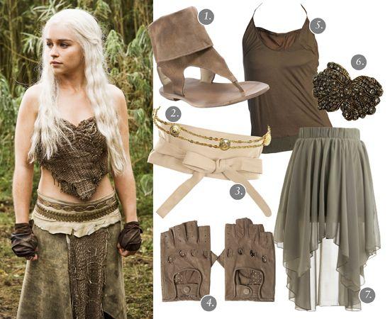 Totally Awesome Costume Halloween Khaleesi