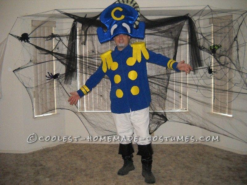 Homemade Captain Crunch Halloween Costume | Coolest ...