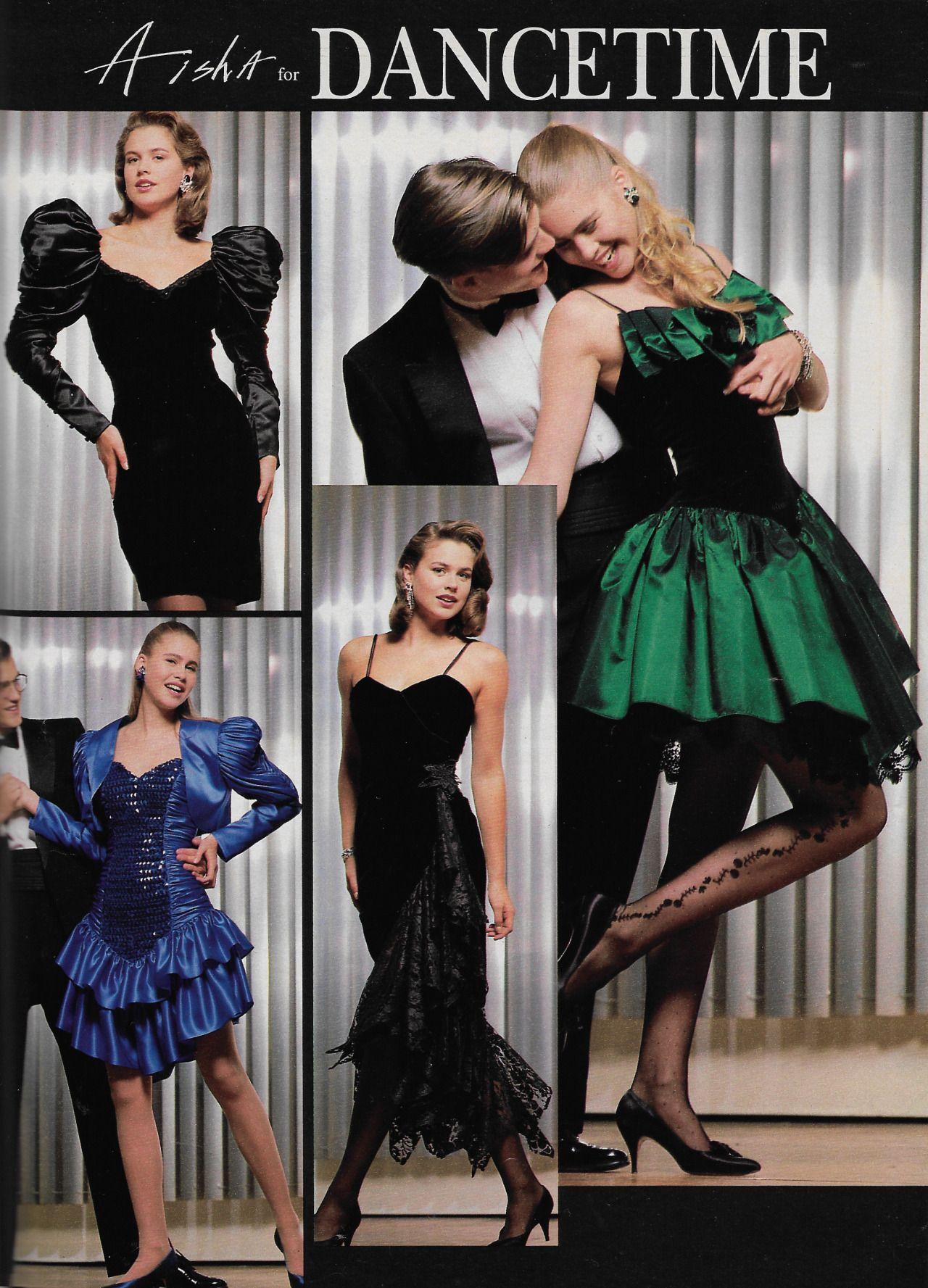 Just Seventeen November 1990 Aisha For Dancetime Vintage Fashion 1990s 80s And 90s Fashion Prom Dresses Vintage [ 1777 x 1280 Pixel ]