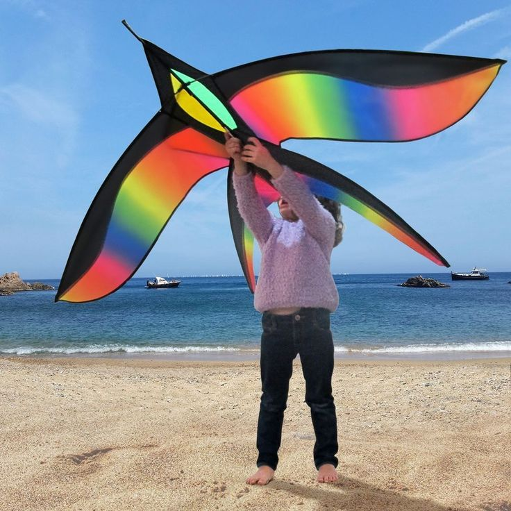 d3eed233a Bird Kite Large Kites For Beach Adults Kids Boys Girls Easy To Fly Flyer  Adult #TomiToys