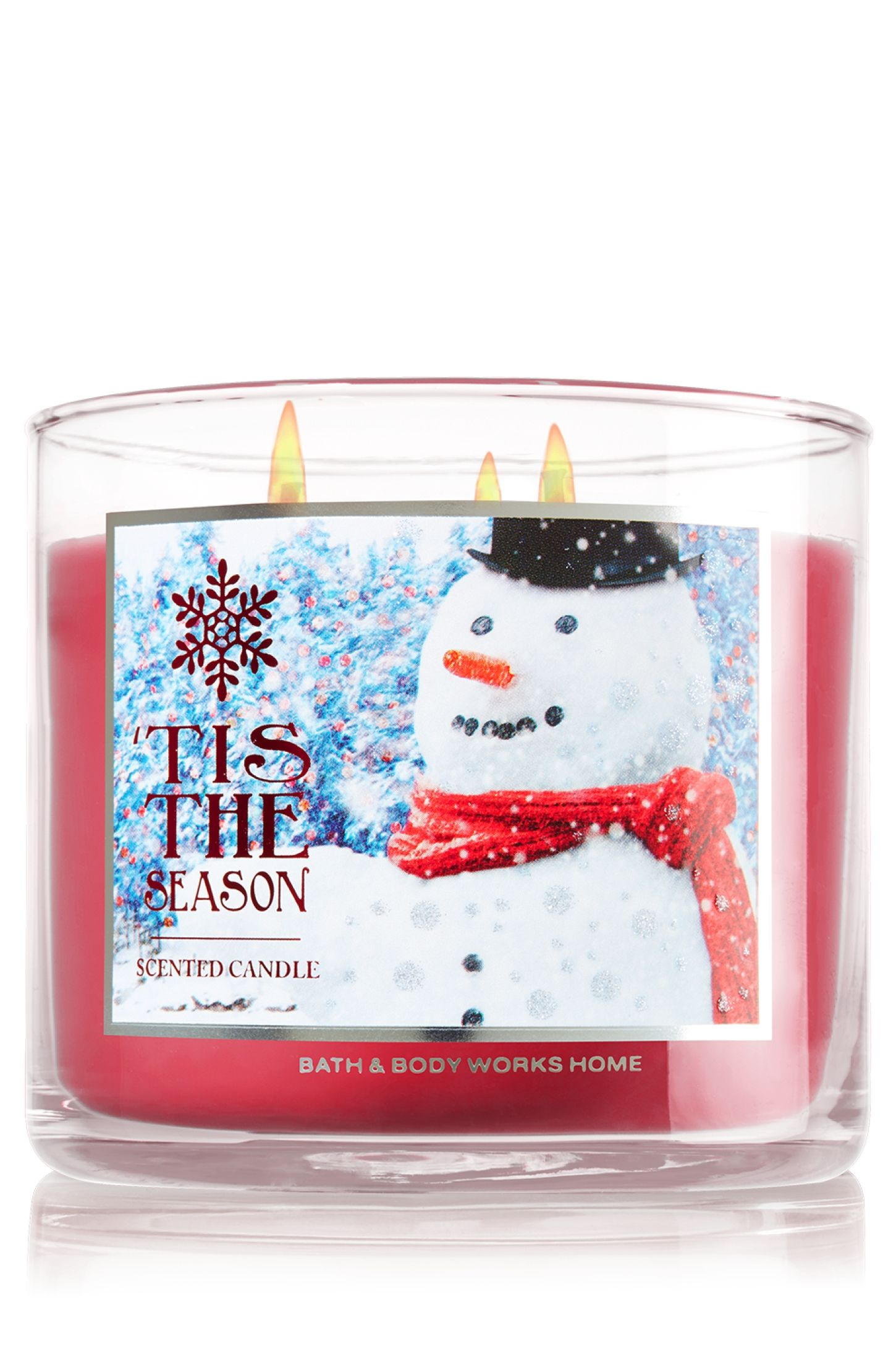 Tis The Season 3 Wick Candle Home Fragrance 1037181 Bath