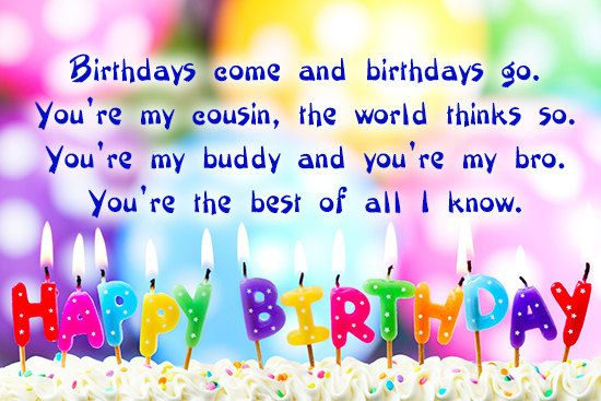 It is your cousin birthday today on this page we give you the the beautiful happy birthday cousin wishesimages and quotes cousins are our best friends and closest siblings make their birthday unforgettable bookmarktalkfo Images