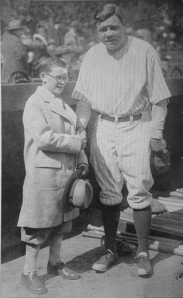In the 1926 World Series Babe Ruth heard about 11-year-old Johnny Sylvester, a New York boy who had been hurt in an accident and was in the hospital .