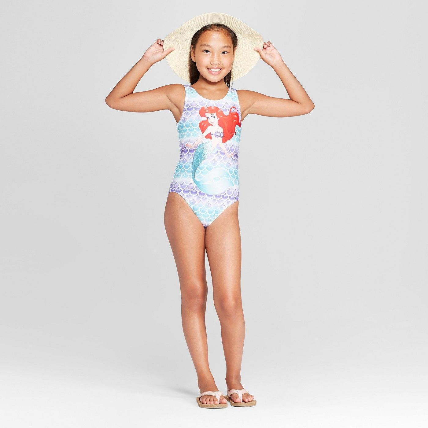 09f4b520c2095 Girls ariel one piece swimsuit purple ariel girls piece jpg 1400x1400 Droid  r2 rd d2 swim