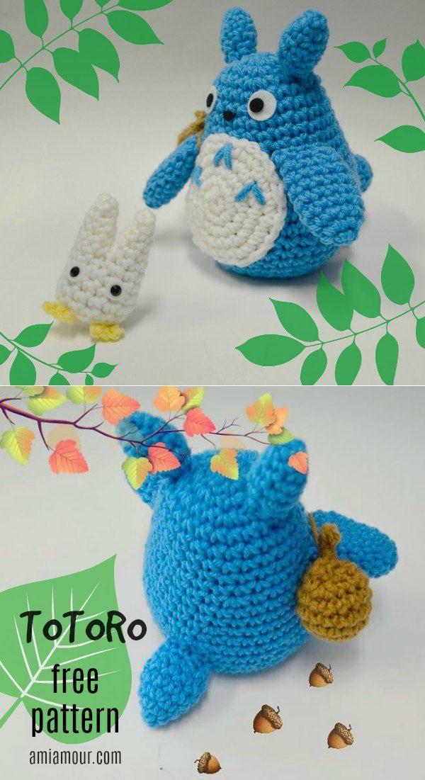 Totoro Amigurumi Crochet Pattern - Free - Ami Amour