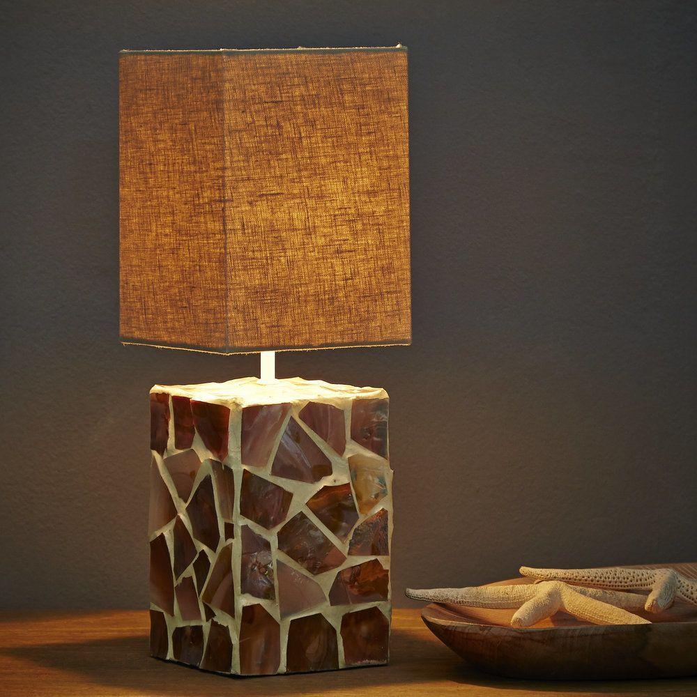 Designer Lampe Perlmutt Quadratisch Grau In 2018 What I Like