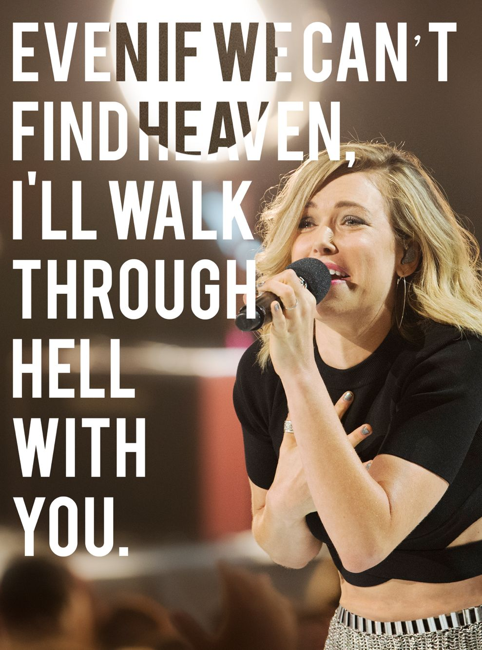 Rachel platten's quotes  Stand by you  'Even if we can't