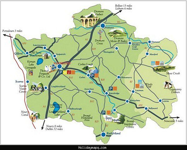 Map Of Ireland Tourist Attractions.Pin By Serkan Cesmeciler On My News Ireland Map Tourist Map