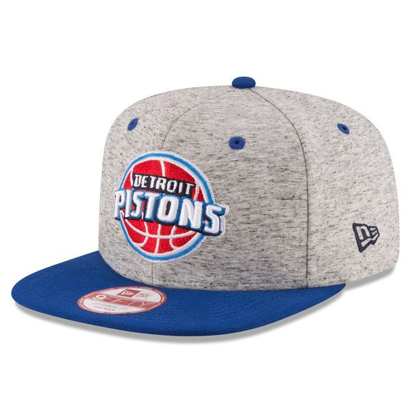 hot sale online 7c2dc fff75 Men s Detroit Pistons New Era Gray Navy Current Logo Team Rogue 9FIFTY  Snapback Adjustable Hat, Your Price   29.99