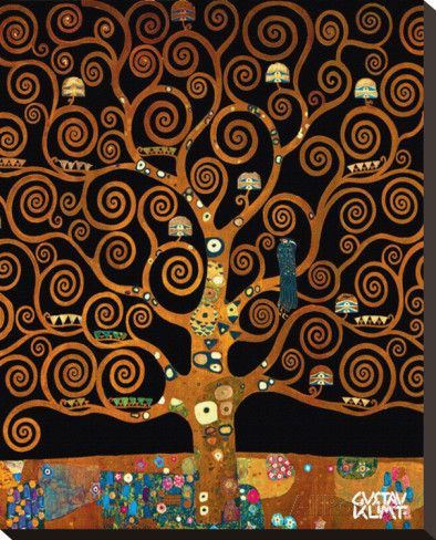 Under the Tree of Life Reproduction sur toile tendue