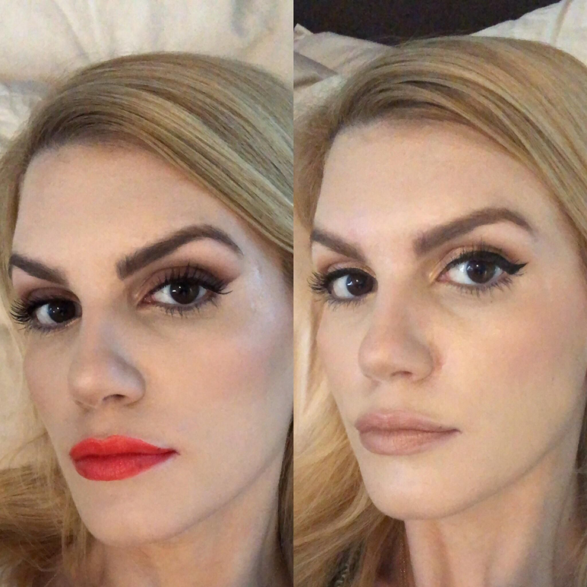 Eyebrow Lightening Before And After Light Eyebrows Eyebrows How To Lighten Hair