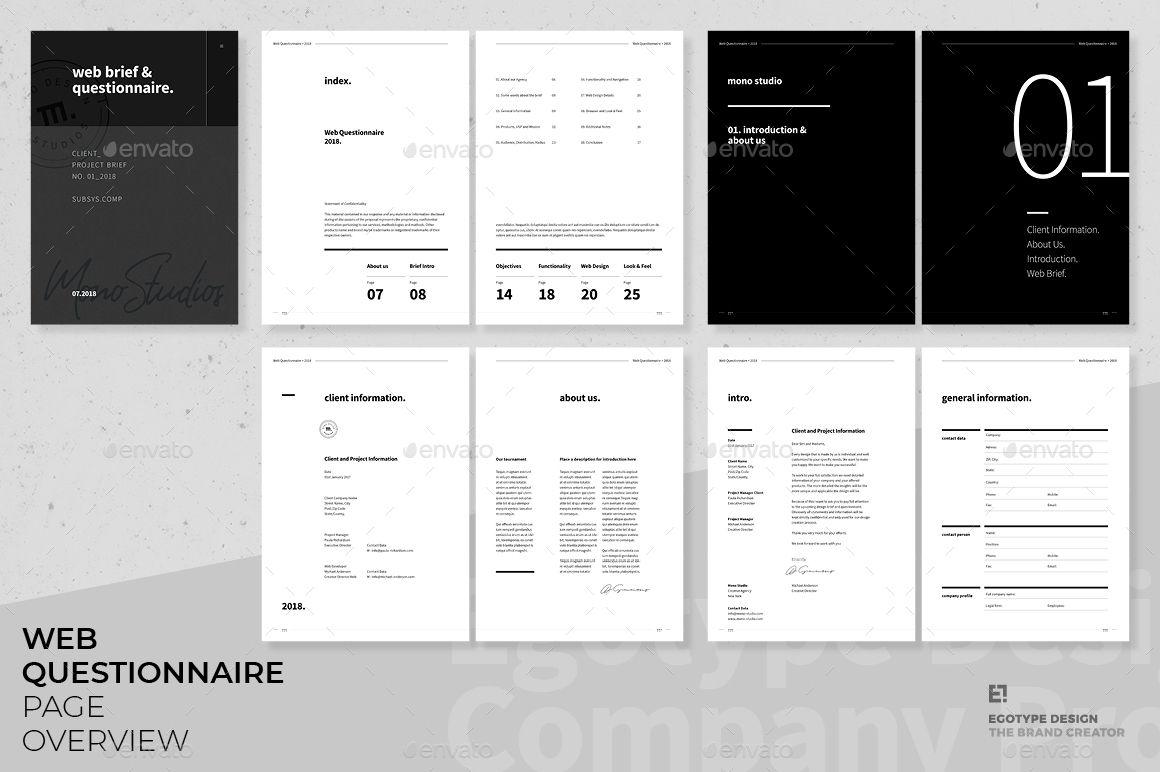 Questionnaire Web Design Web Design Quotes Web Design Websites Web Design Tips