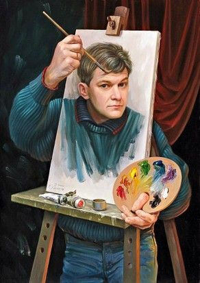 Self Portrait, Oleg Shuplyak.