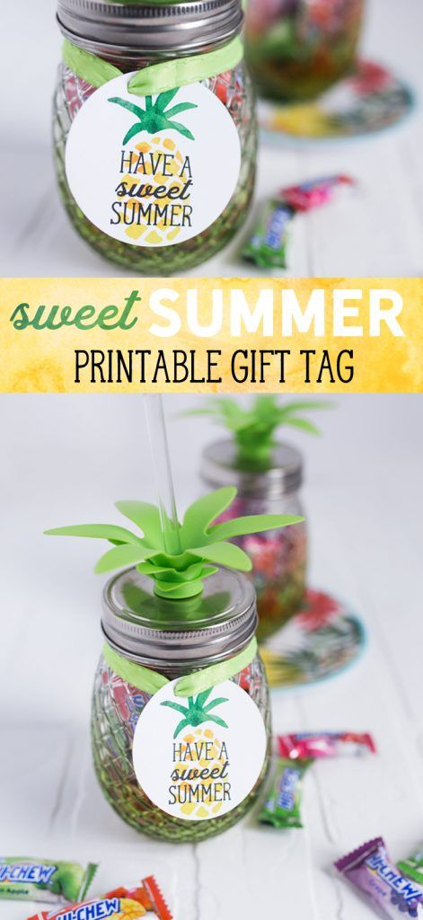 photo relating to Have a Sweet Summer Printable titled Cute Summertime Present Tag Attractive Astounding Printables Instructor