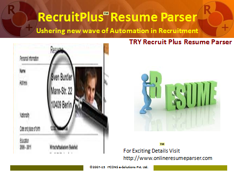 if you are looking for resume parser free it s the best place for