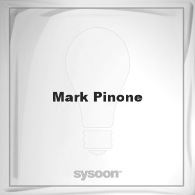 Mark Pinone: Page about Mark Pinone #member #website #sysoon #about