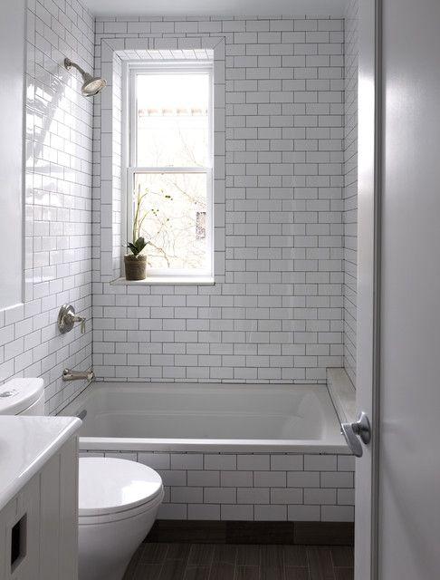Pin By Jamie E Sanchez On Casa Sanchez Bathroom Tile Designs Patterned Bathroom Tiles White Subway Tile Bathroom