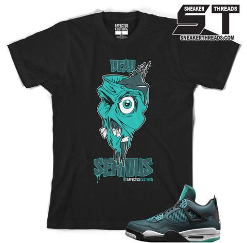 3c1105e846fd Tee shirts to match Jordan 4 teal sneaker retro 4 math tees shirts ...