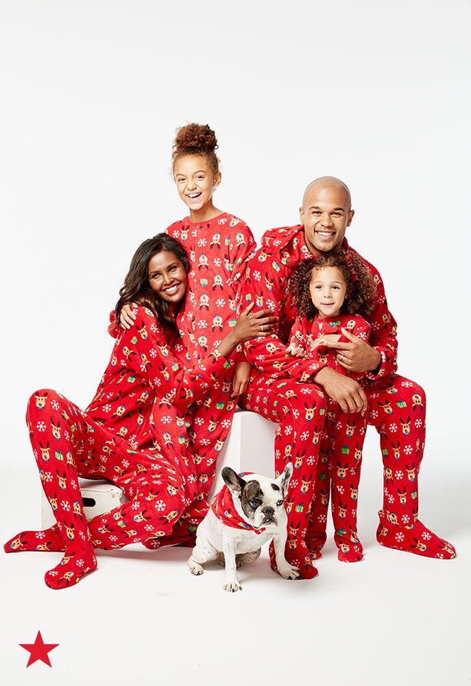 87ee91de25 Footie pajamas for everyone! Shop fun and festive PJs at Macy s that will  make the whole family happy. Plus
