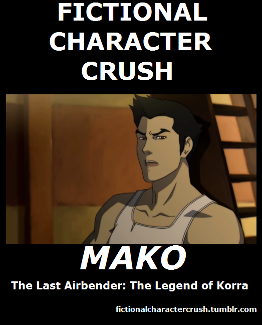 #1 - Mako from The Last Airbender: The Legend of Korra 17/07/2012
