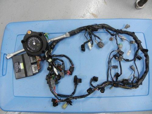 Kawasaki Zx6r Kit Adjustable Ecu Analog Tach W Temp Kawasaki Zx6r Racing Bikes Zx6r