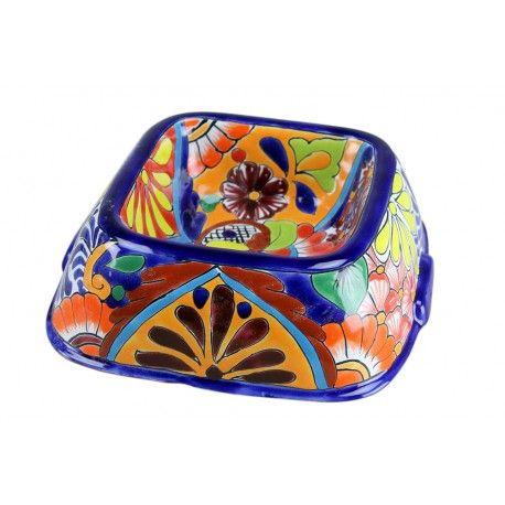 Talavera Dog Bowl Dog Bowls Mexican Pottery Talavera