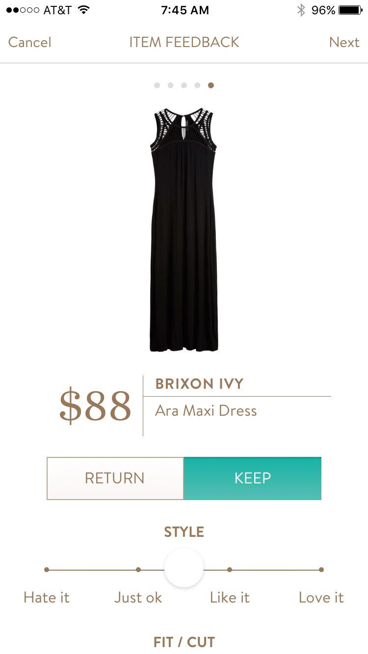 Stitch Fix Briton Ivy Ara Maxi Dress