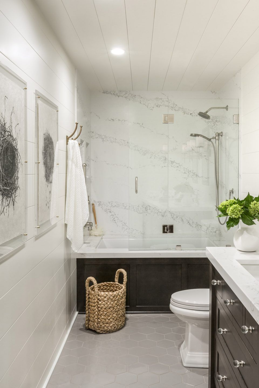 Hall Bathroom Remodel by R. Cartwright Design | Bathrooms ...