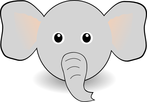 graphic regarding Printable Elephant known as Totally free Printable Elephant Template Amusing Elephant Experience