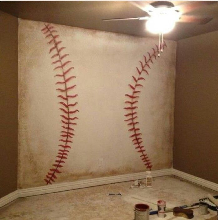 25+ Unique Baseball Wall Ideas On Pinterest