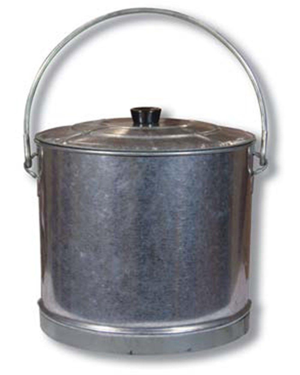 Cubo galvanizado conserva c/tapa 60LT