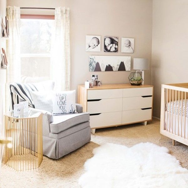 Nursery Furniture For Small Spaces. Baby Nursery Decorating Ideas ...
