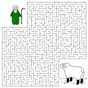 Lyrics, Chords and More » Good Shepherd and the Lost Sheep