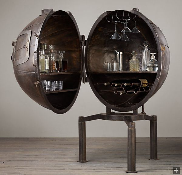 gallery of bar cart by restoration hardware with pulley lights restoration hardware
